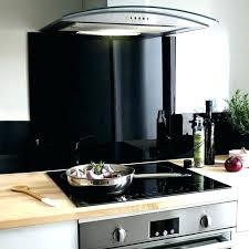 hotte cuisine castorama planche en verre pour cuisine fond de hotte en verre blanc satin