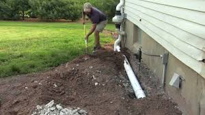 basement insulation how to install drainage pipe diy
