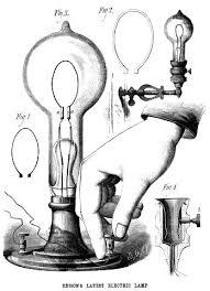 light bulb clipart edison pencil and in color light bulb
