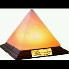 Himalayan Salt Lamp Pyramid by Pyramid Salt Lamp 5