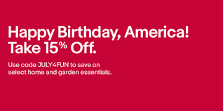 EBay July 4th Coupon Takes 15% Off Power Tools, Home Goods ... Ebay Gives You A 15 Discount On The Entire Website As Part Printable Outlet Coupons Nike Golden Ginger Wilmington Coupon Great Lakes Skipper Coupon Code 2018 Codes Free 10 Plus Voucher No Minimum Spend Members Only Off App Purchases Today Only Hardforum 5 Off 25 Or More Ymmv Slickdealsnet Ebay Code Free Shipping For Simply Ebay Chase 125 Dollars Promo Ypal Www My T Mobile Norton Renewal Baby Deals Direct Nbury New May 2016