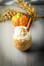 Pumpkin Spice Frappuccino Recipe Starbucks by Pumpkin Spice Frappuccino Recipe Forks N Knives