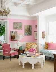 grown up ways to use pink pink walls pink room and living rooms