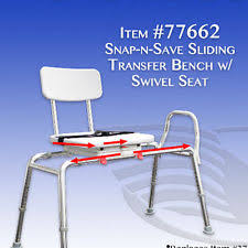 Bathtub Transfer Bench Swivel Seat by Buy Sliding Transfer Bench With Cutout Swivel Seat