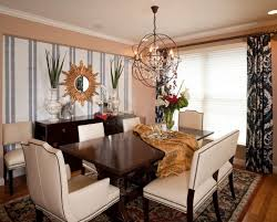 Dining Room The Ideas Accent Wall Combining With Right Colors Red