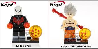 Kopf KF455 KF456 Dragon Ball Super Jiren And Goku Ultra Instinct Minifigs Preview