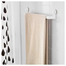 Bathroom Towel Bar Height by Stugvik Towel Rack With Suction Cup Ikea