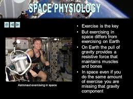 But Exercising In Space Differs From On Earth