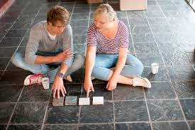 Grouted Vinyl Tile Pros Cons by Slate Flooring Pros And Cons