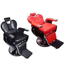 Fully Reclining Barber Chair by Shampoo Chair Ebay