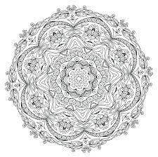 Free Printable Coloring Pages Mandala Templates Mandalas For Adults Pdf To Color Full Size