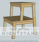 bedroom night stand tables at woodworkersworkshop com