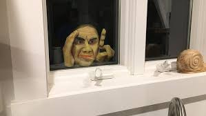 Motion Activated Halloween Decorations Uk by Motion Activated Moving Halloween Props U0026 Pranks Scary Peeper