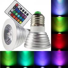 2 Pack Magic Light Color Changing LED Light Bulbs with Remote