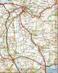 Map Of Cortona Area
