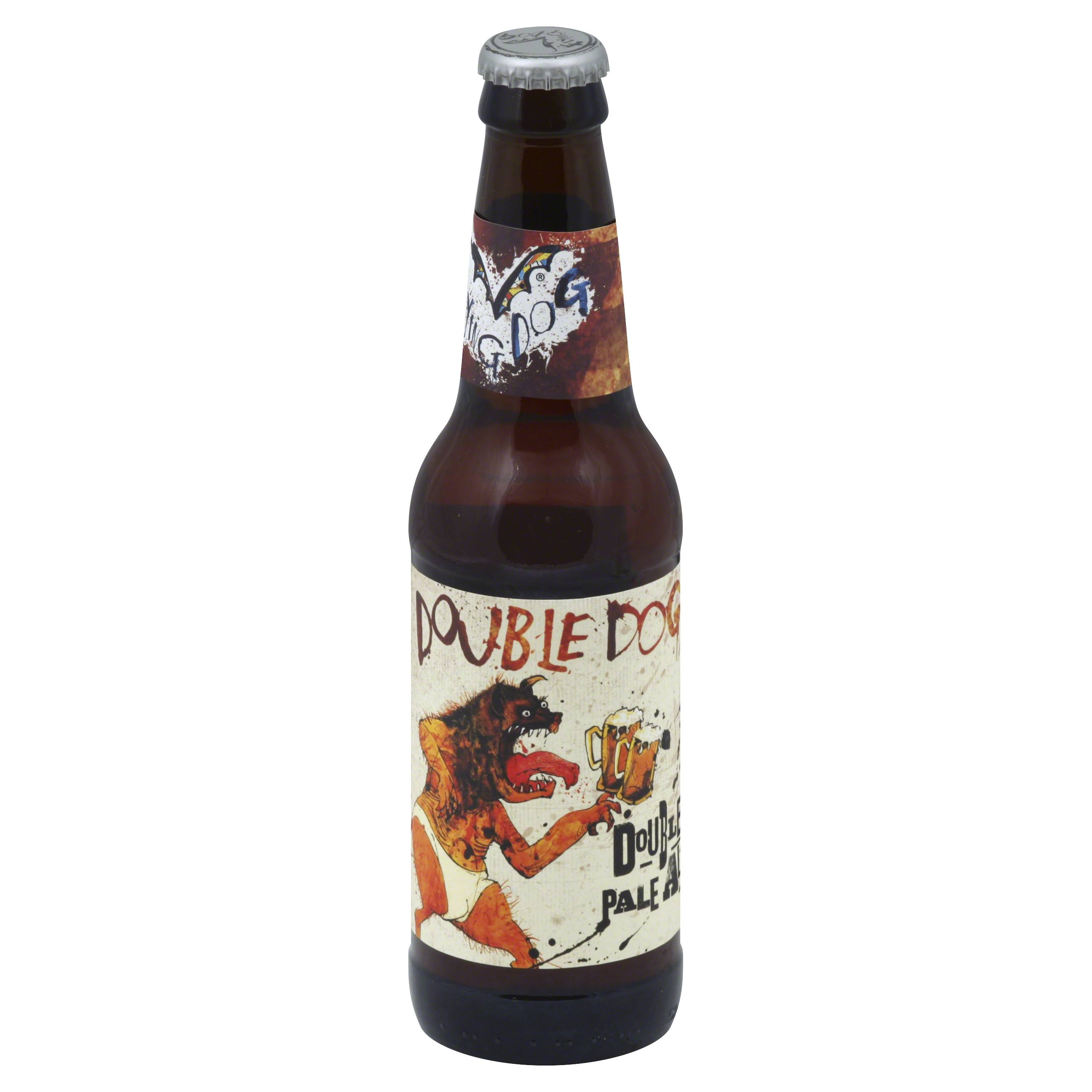 Flying Dog Ale, Double Pale, Double Dog - 12 fl oz