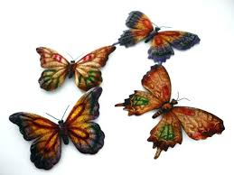 Outdoor Butterfly Wall Decor Art Metal Inspiration Gallery From