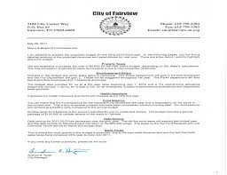City Of Fairview 2012 – 2013 Budget