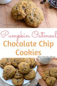 Libbys Soft Pumpkin Cookie Recipe by Pumpkin Oatmeal Chocolate Chip Cookies Because Choctoberfest