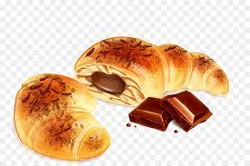 Croissant Bakery Poster Illustration