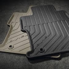08p13 tr0 110 honda floor mats all season black bernardi parts