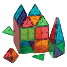 Magna Tiles 100 Black Friday by Valtech Magna Tiles Clear Colors 74 Piece Set Target