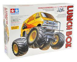 100 Monster Truck Lunch Box TAM58347 Tamiya 2WD Electric Kit