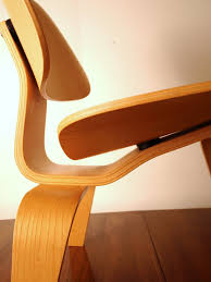 MODERNHAUS: Eames LCW Molded Birch Lounge And Danish Teak ...