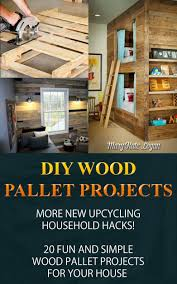 Get Quotations DIY Wood Pallet Projects More New Upcycling Household Hacks 20 Fun And Simple