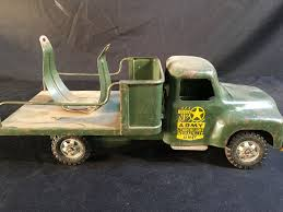 100 Antique Metal Toy Trucks BUDDY L VINTAGE METAL TOY TRUCK ARMY SEARCH LIGHT REPAIRIT UNIT