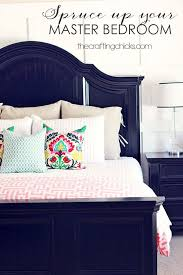 Spruce Up Your Master Bedroom Decor Pillows
