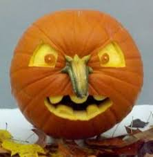 Puking Pumpkin Pattern Free by Easy Pumpkin Carving Idea With Toothpicks Creative Halloween