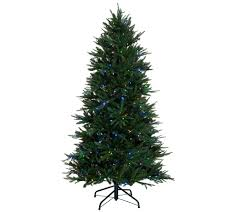 6ft Artificial Christmas Tree With Lights by Christmas Trees U2014 Qvc Com