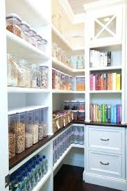 No Pantry Solutions Walk In Pantry Features Built In Shelving
