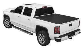 100 Chevy Truck Accessories 2014 LOMAX Hard TriFold Tonneau Cover Fits 2018 Silverado GMC Sierra 1500 57 Bed B1020019
