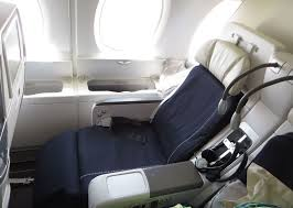 siege business air review of air flight from to in premium eco