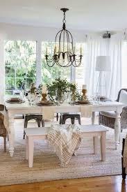 10 gorgeous modern farmhouse dining room ideas house