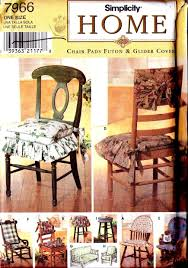 Amazon.com: Simplicity Home Pattern 7966 ~ Chair Pads, Futon And ... Habe Glider Rocking Nursing Recliner Chair With Ftstool With Amazoncom Lb Intertional Durable Outdoor Patio Vinyl 3seat Replacement Cushion Set Rocker Grey Color Home Best Rated In Chairs Helpful Customer Reviews Decor Pretty Design Of Wingback Covers For Chic Fniture Extraordinary Cushions Indoor Or Shellyliu 100pcs Universal Stretch Spandex Cover Sophisticated With Marvellous Spectacular T Slipcovers Interesting Barnett Products Checkers Davinci Maya Upholstered Swivel And Ottoman