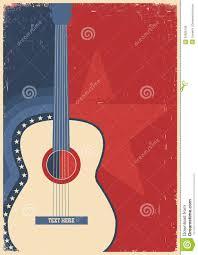 Concert Guitar For Poster Music Festival