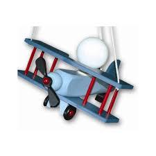 suspension luminaire chambre garcon suspension chambre enfant avion aeronef bleu millumine