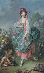 Mademoiselle Guimard As Terpsichore 1774 5 An Early Work