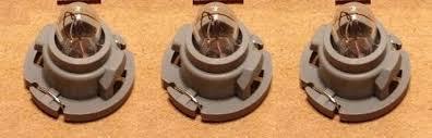 dodge ram dakota set of 3 bulbs heater a c climate dash