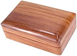 design deko holz truhe kiste box staubox küche bad