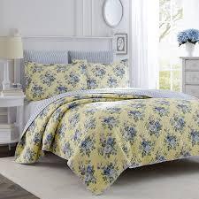 Amazon Laura Ashley Linley Quilt Set Twin Home Kitchen
