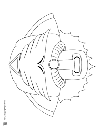 Superhero Costume Coloring Page Color Online Print