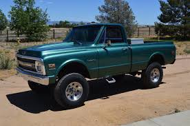 100 Chevy Truck 1970 Lifted