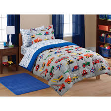 Mainstays Kids' Transportation Coordinated Bed In A Bag - Walmart.com