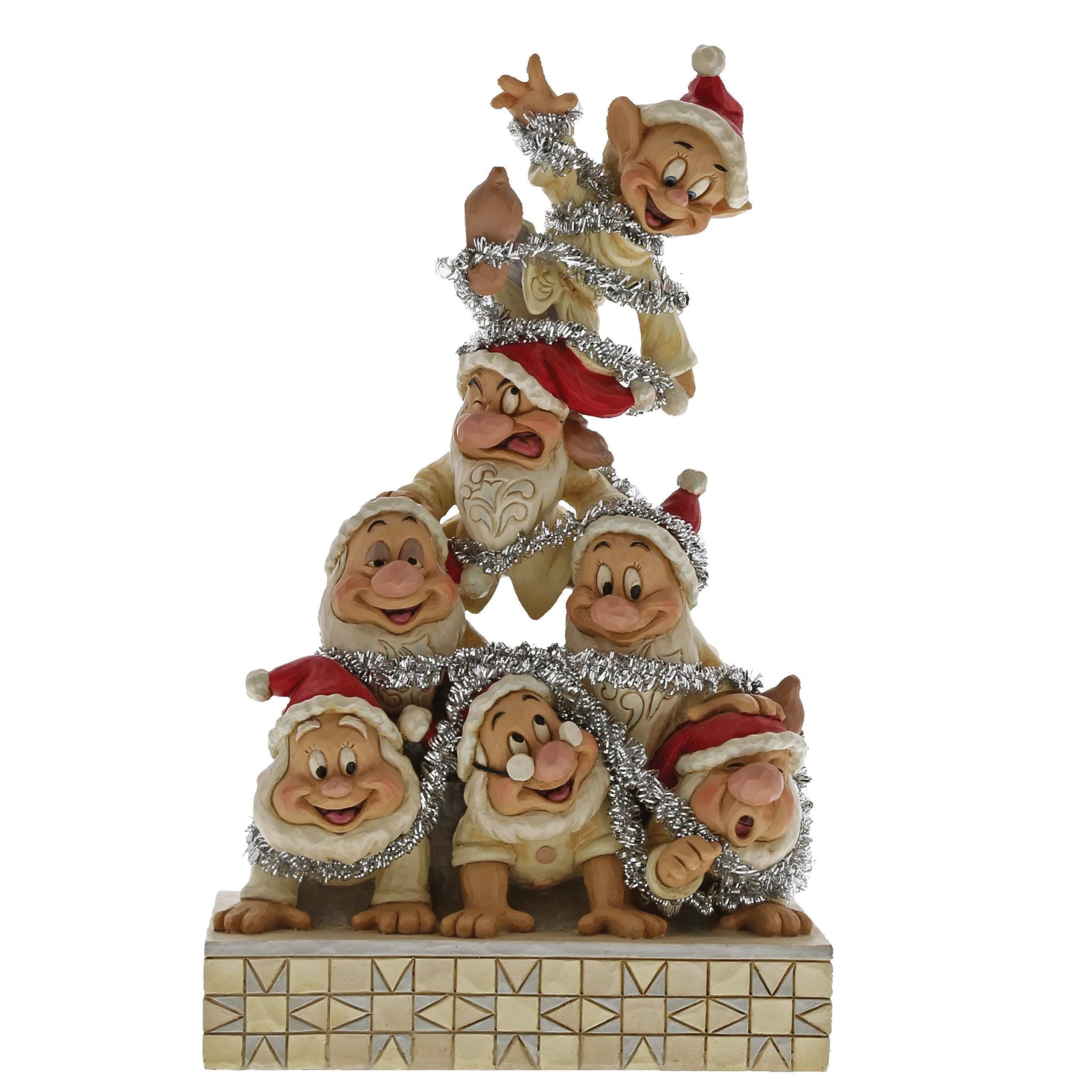 Disney Traditions 'Precarious Pyramid' Seven Dwarfs Figurine