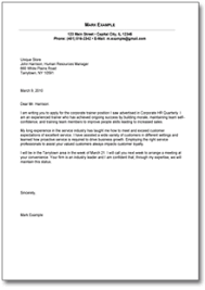 Cover Letter Template for Customer Service ficer