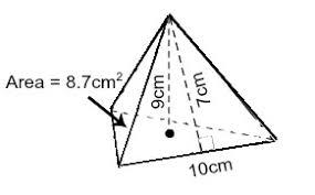 Triangular Pyramid Definition Formula Examples